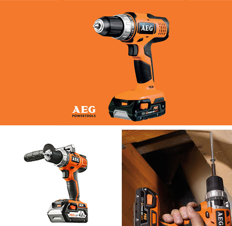 new aeg bs18g li 18v cordless driver drill 1 5ah battery 2ea free express ebay. Black Bedroom Furniture Sets. Home Design Ideas