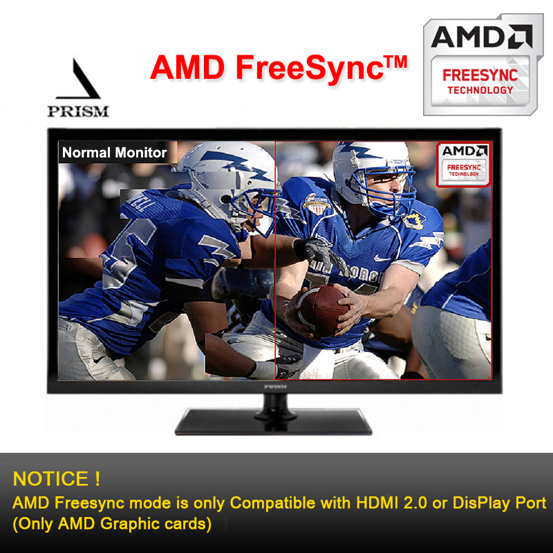 PRISM Korea M280PU Pro 28inch 4K UHD (3840x2160) 1ms Gaming Monitor PIP,  PBP, HDCP, Flicker Free, Low Blue Light, DP, HDMI, Remote included